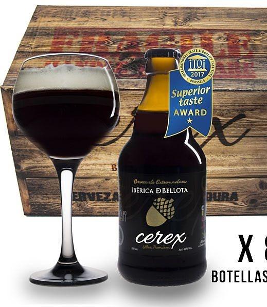 Cerveza artesana Cerex Ibérica de bellota