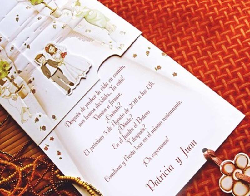 Invitación cardnovel Ref.31301