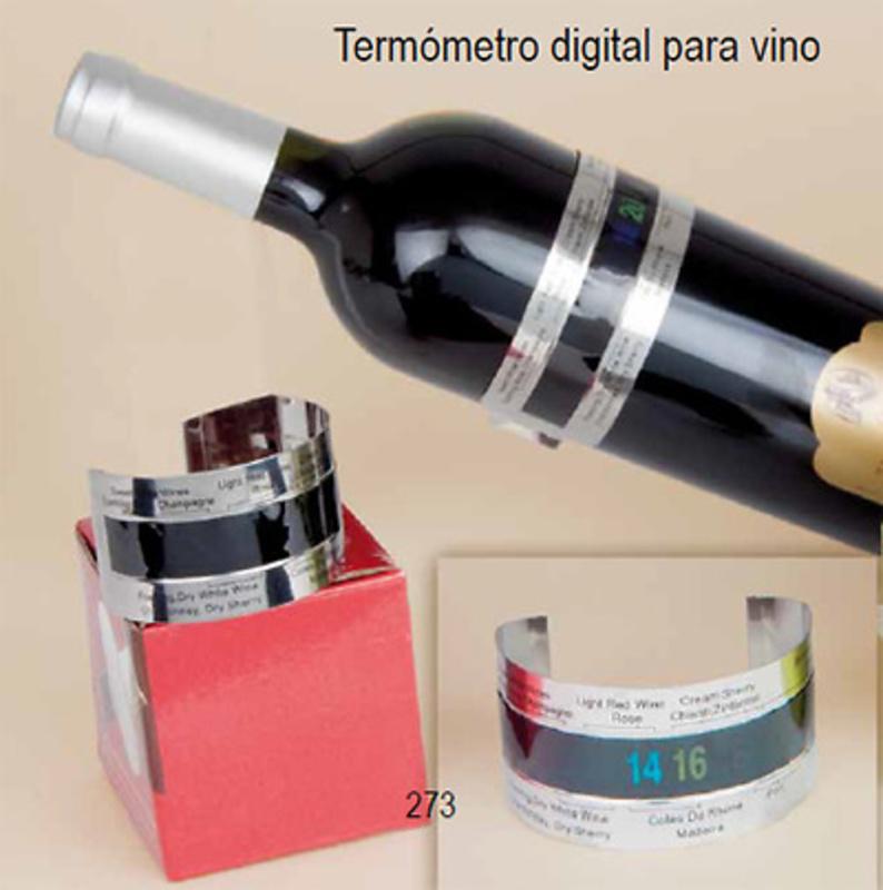 Termómetro digital vino Ref.2731