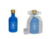 Botella little gin premium y bolsa