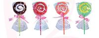 Detalle de boda de piruleta pastel Ref.2615 ETIQUETAS GRATIS
