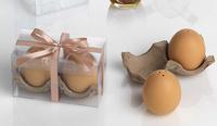 Detalle de salero y pimentero huevo Ref.1071 ETIQUETAS GRATIS