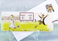 Invitación cardnovel fútbol Ref.32803
