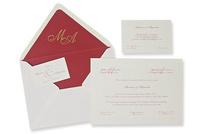 Invitación de boda Ref.100324