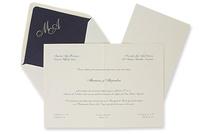 Invitación de boda Ref.100326