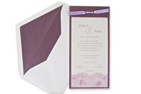 Invitación de boda Ref.100488