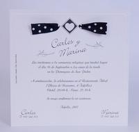 Invitación de boda Ref.100728