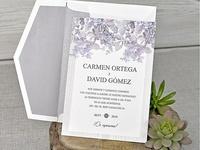 Invitación de boda cardnovel 39320
