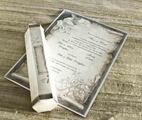 Invitación de boda cardnovel pergamino 30109