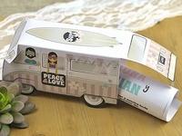 Invitación de boda furgoneta surf 39603