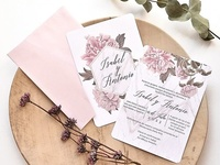 Invitación de boda original 39783