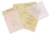 Invitación de boda pergamino 100238