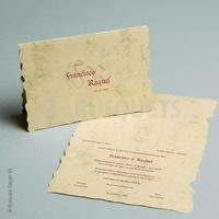 Invitación medieval Ref. 07780
