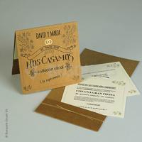 Invitaciones busquets ref.18927