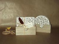 Posavasos diseño madera