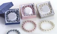 Pulseras perlas de colores Ref.170 Etiquetas GRATIS