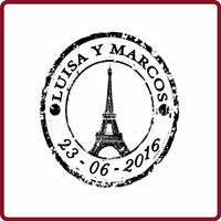 Sello Vintage París