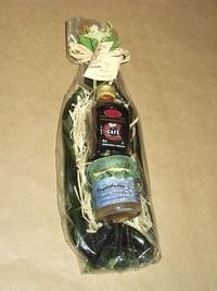 Vaciabolsillos botella, mermelada y licor